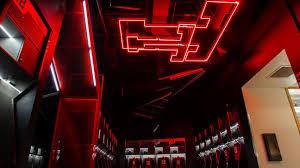 texas tech neon light texas tech red raiders locker room sports empire