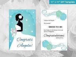 congratulations bridal shower diy printable bridal shower congratulations card 2498925 weddbook