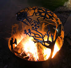 Sphere Fire Pit by Alpine Retreat Sphere Fire Pit U2013 Whipps Designs