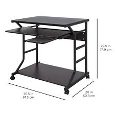 2 Tier Desk by Best Choice Products Home Office 2 Tier Computer Desk Workstation W L