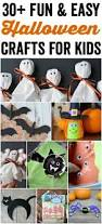and easy halloween crafts for kids