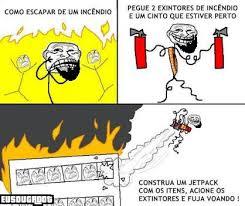Jetpack Meme - poblema inc礫ndio meme by eusougroot memedroid