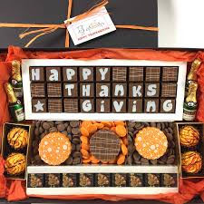 happy thanksgiving chocolate gift box by chocolate by cocoapod