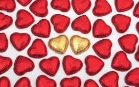 chocolate heart candy candy hearts wallpaper wallpapersafari