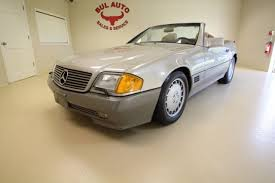 mercedes service records 1992 mercedes sl class 500sl 1 owner like service