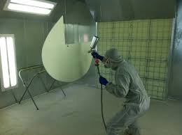 spray paint booth new spray booth update