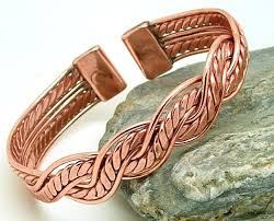 bracelet jewelry magnetic images M22 magnetic copper mexican twist bracelet jpg