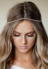 pearl headpiece chain headpiece pearl and gold chain headdress lovmely