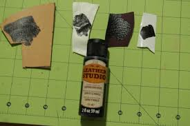 product review plaid leather studio acrylic paint for leather and