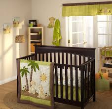Nursery Blinds And Curtains by Bedroom Cozy Brown Wood Sears Baby Cribs With White Mattress And