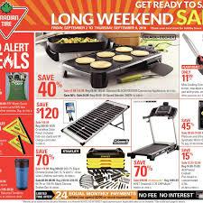canadian tire weekly flyer weekly long weekend sale sep 2