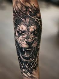 mens roaring lion forearm tattoos tattoo u0027s pinterest lion