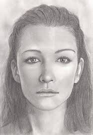 photo instead here is a standard female face i ve drawn from