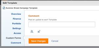 editing templates u2013 workfront