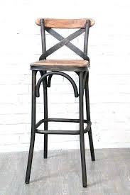 chaise bar chaise loft bar metal tabouret de vintage bois