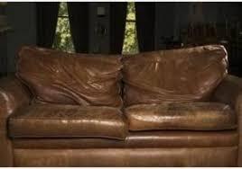 vieux canap cuir vieux canapé cuir obtenez une impression minimaliste donne canapé