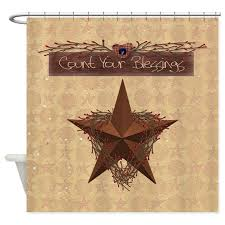 Country Shower Curtain Primitive Shower Curtain By Mousefx