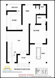 kerala home design 2 bedroom 600 sq ft house plans beautiful 1000 sq ft kerala home design