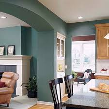 home interior color brick walls painted a pale blue fresh take on