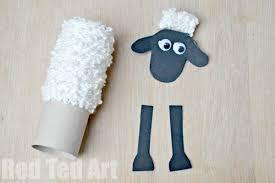 tp roll shaun sheep craft red ted art u0027s blog