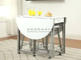 white space saver table white drop leaf table alluring drop leaf bar table with white drop