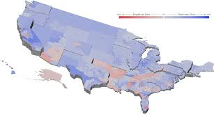 Texas Election Map by 2016 U S Election Visualizations