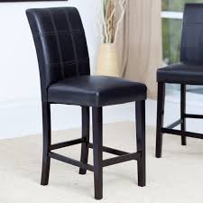 Walmart Dining Room Chairs by Furniture Contemporary Black Walmart Stools With Chrome Legs For
