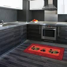 tapis cuisine antiderapant lavable tapis de cuisine antidérapant motif olivers