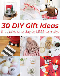 gift ideas 30 diy gift ideas a beautiful mess