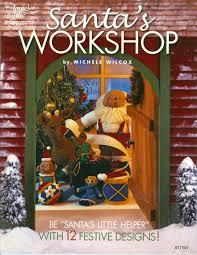 santa u0027s workshop crochet pattern book santas workshop crochet