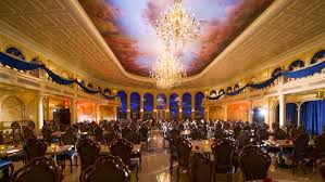 Be Our Guest Restaurant Walt Disney World Resort - Beauty and the beast dining room
