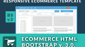 bootstrap 3 0 ecommerce template shop storefront