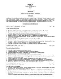 warehouse resume exles sle of warehouse resume resume exles
