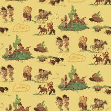 cowboys u0026 indians children u0027s vintage wallpaper for the home