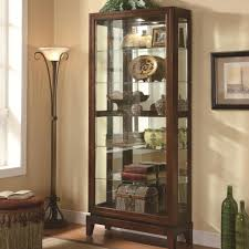 Modern Curio Cabinets Furniture Luxury Curio Cabinets For Chic Home Furniture Ideas