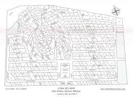 San Carlos Mexico Map by Loma Del Mar Homes San Carlos Sonora Mexico