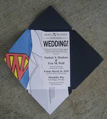 themed wedding invitations themed wedding invitations the best and worst superman