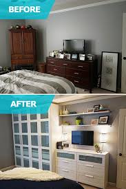 Matt And Adri Lacked Storage Space In Their Bedroom Matt - Bedroom ideas storage
