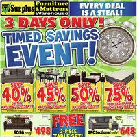 kitchener surplus furniture surplus furniture flyer kitchener on redflagdeals com
