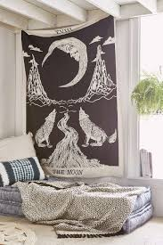 Home Decor Stores Like Urban Outfitters Moon Tarot Tapestry Magical Thinking Tarot And Tapestry