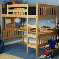 Bunk Bed Loft With Desk Bedroom Double Loft Bed With Desk Underneath Bunk Bed With Desk