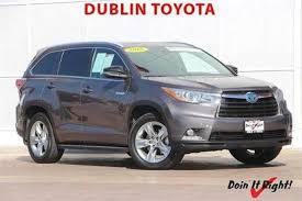 toyota highlander sales used 2015 toyota highlander hybrid for sale pricing features