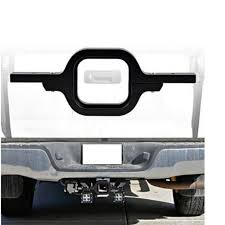 work light mounting bracket real tow hitch light mounting bracket aluminum alloy for dual led