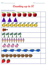 kindergarten worksheets counting worksheets count the number of