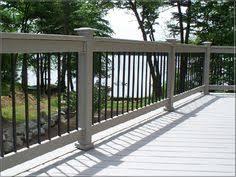 don u0027t like wood posts w o wood railing feels disconjointed