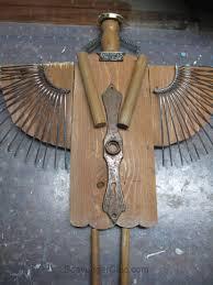 primitive junk angel scavenger chic