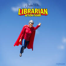 Superhero Toaster A Librarian Superhero Action Figure Inspired By Seattle Author Who