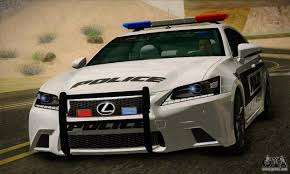 f series from lexus lexus gs350 f sport series iv police 2013 for gta san andreas