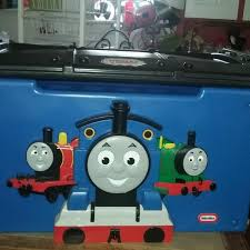 train table with cover find more little tikes thomas the train toy box flip cover over and