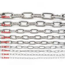 steel chain rings images 1 meter length 304 stainless steel chain ring welding linking jpg